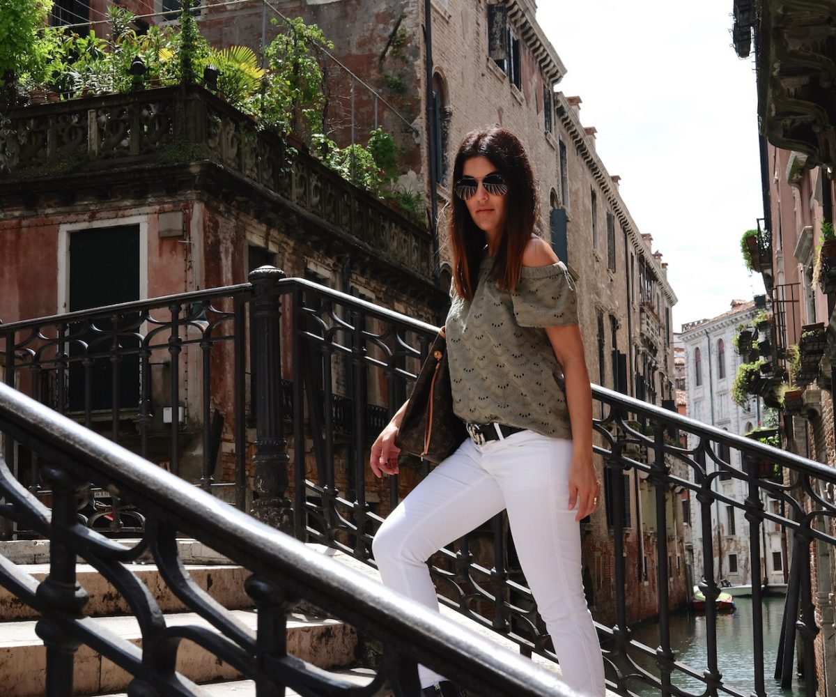 First trip to Venice wearing Street One